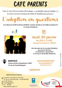 Café parents « L'adoption en questions »