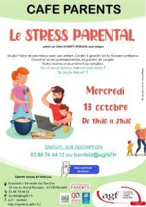 Café parents : Le stress parental