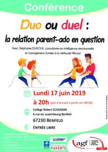 Duo ou duel, la relation parent-ado en question
